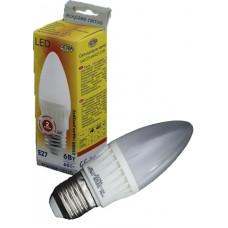 Светодиодная лампа Led C37-6W-E2-2700