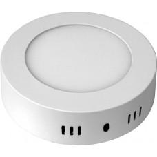 Светильник светодиодный DownLight 6W накладной круг