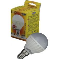 Светодиодная лампа Led Led G45-6W-E14-4000