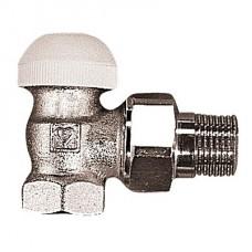 Термостатический клапан Herz TS-90 без предварительной настройки угловой, DN 20