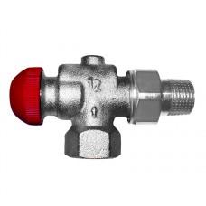 Термостатический клапан Herz TS без предварительной настройки угловой специальный, DN 20