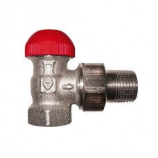 Термостатический клапан Herz -TS-90-V с предварительной настойкой угловой, DN 15