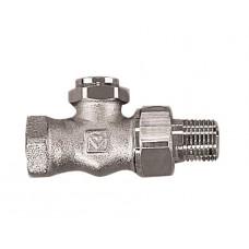 Запорный вентиль для отключения радиатора Herz RL-1 прямой, DN 20