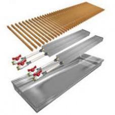 Конвектор  естественной конвекции Polvax с двумя теплообменниками  KEM.380.2250.120, 2987 Вт