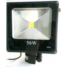 Прожектор диодный 50 Вт 3200 Lum Ecostrum с датчиком